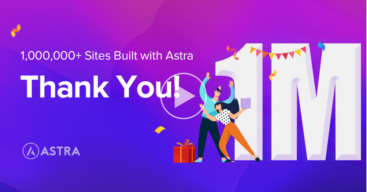astra 1 million users